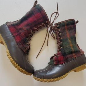 "L.L. Bean Signature 10"" bean boot size 8"